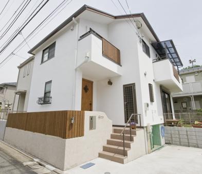 東京の木とスイス漆喰で造った外断熱の住まい