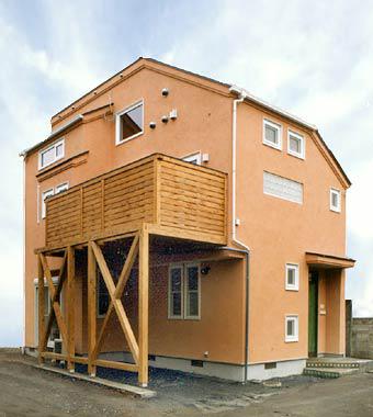都会に住むための基本系 2階リビングとコンパクトな間取り